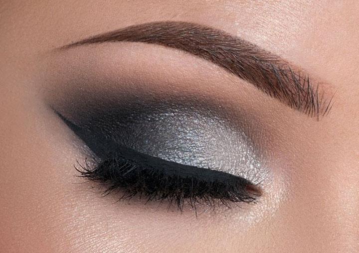 charcoal eyeshadow