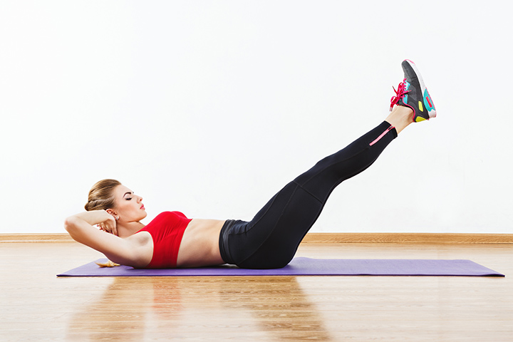 double leg lifts for lower belly fat