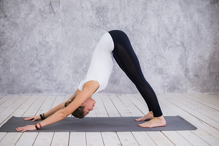 downward facing dog for beginners