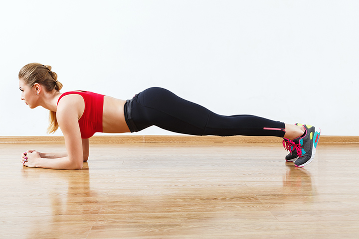 elbow planks for lower belly fat