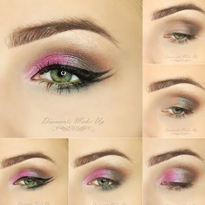 eyeshadow contrasts