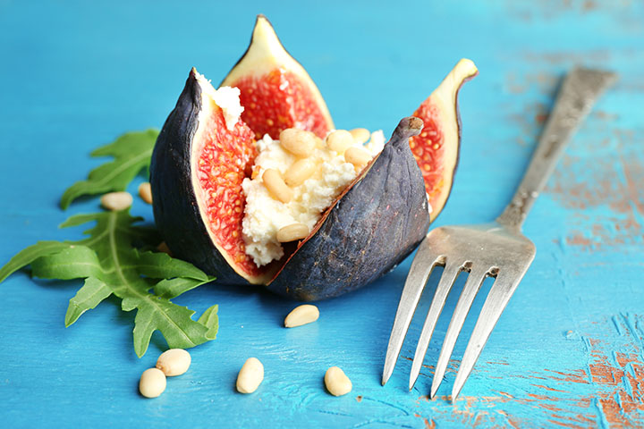 fig and cottage cheese