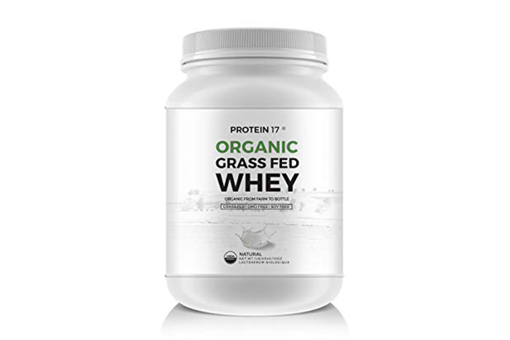 New and Unique – The Ultimate Organic, Grass-Fed Whey Protein, Delicious, 1lb/16oz/454g – Protein 17® - Excellent Value by Weight