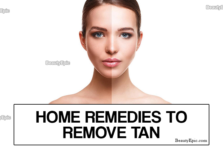 7 Best Home Remedies To Remove Tan