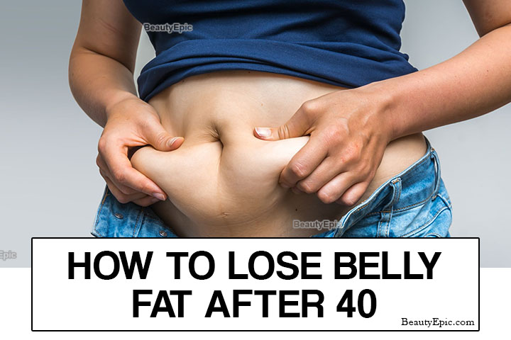 How to Lose Belly Fat After 40 – 8 Easy Ways
