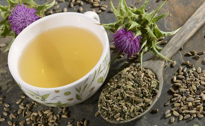 milk thistle detox tea weight loss