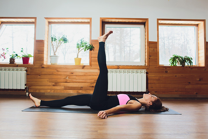 single leg circle for belly fat
