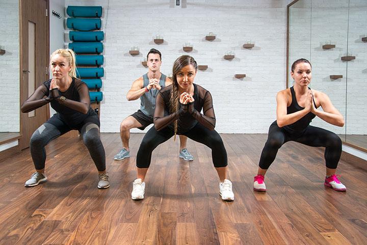sumo squat leg workout