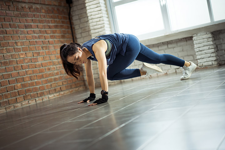 twisting mountain climbers for lower belly fat