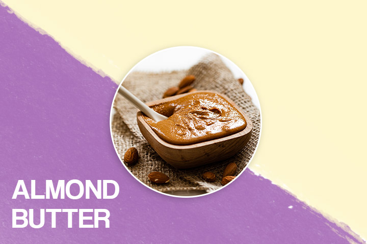 Almond butter for bigger bum