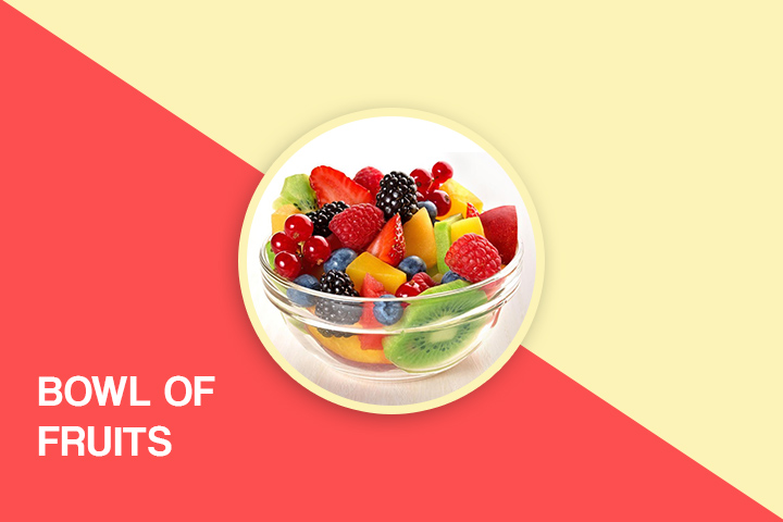 Bowl of fruits for weight loss
