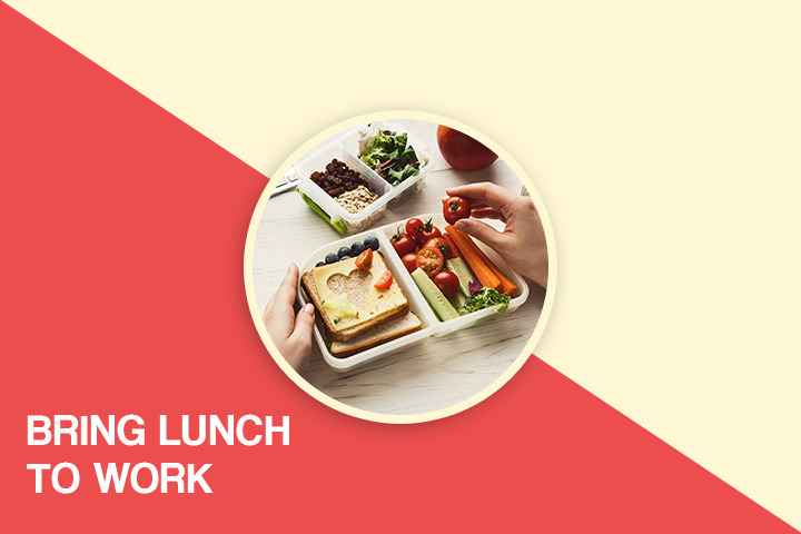 Bring Lunch to work for weight loss