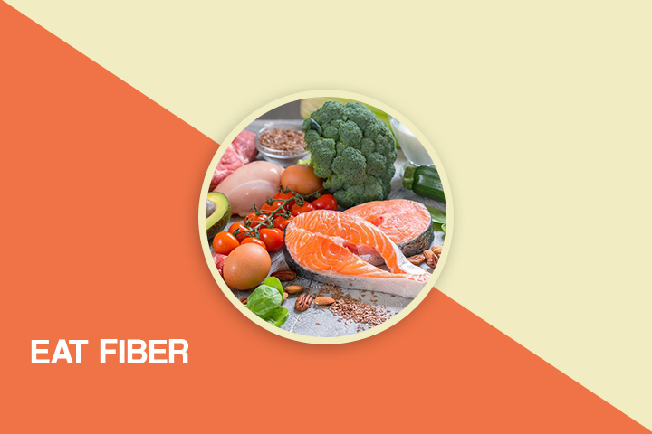 Eat fiber for weight loss