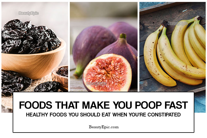 20 Healthy Foods That Make You Poop Fast