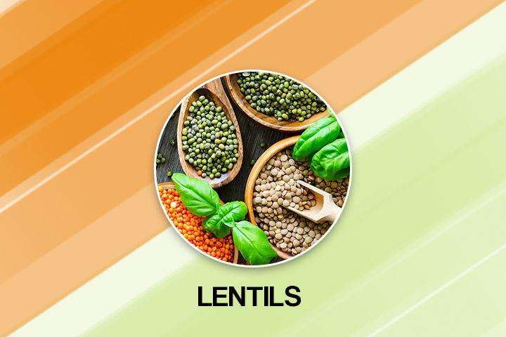 Lentils for fast plooping
