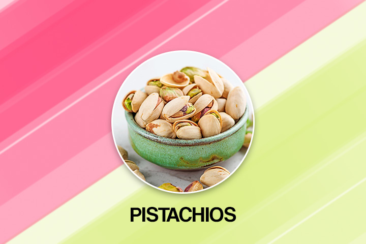 Pistachios for fast plooping
