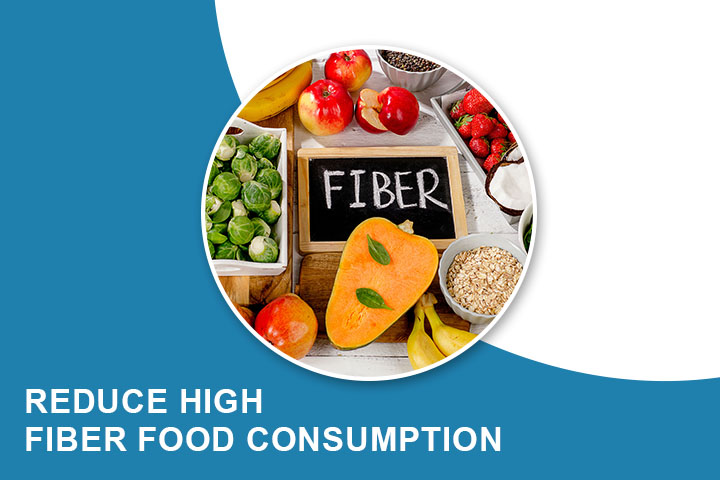 Reduce High Fiber Food Consumption