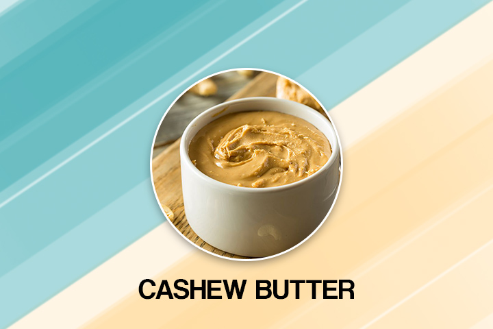 cashew butter for fast plooping