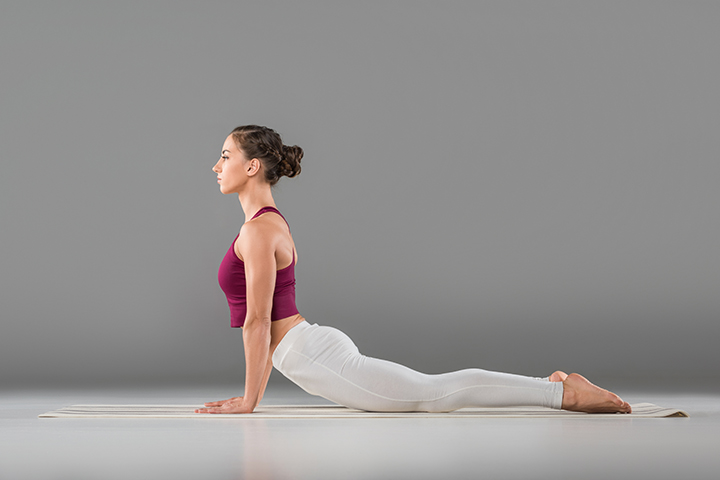 cobra pose for fibromyalgia