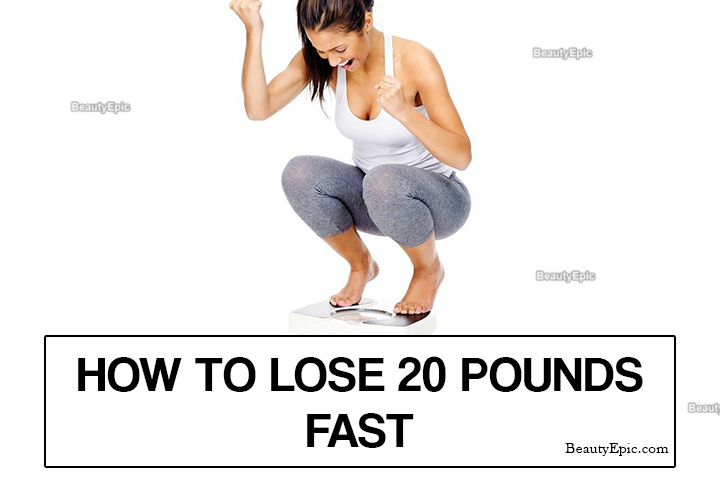 How To Lose 20 Pounds Fast?