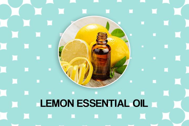 lemon oil for dry hair