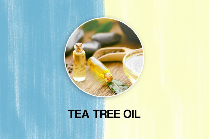 tea tree oil to remove dandruff