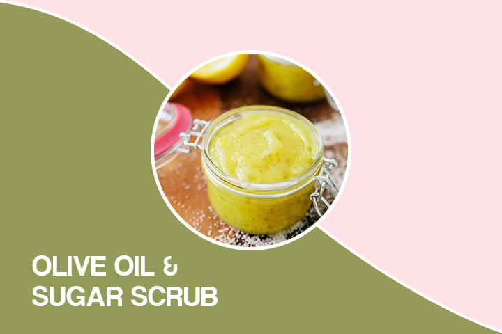Olive Oil And Sugar Scrub