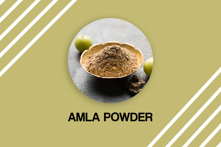 amla powder for grey hair