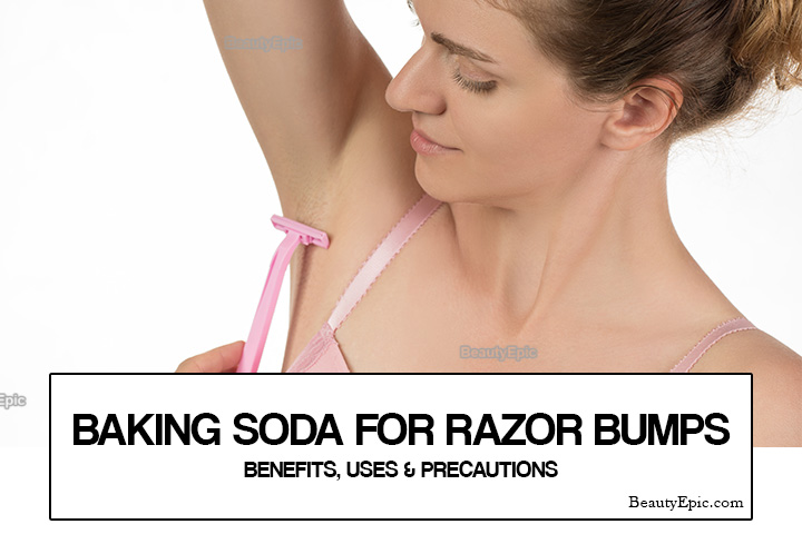 Baking Soda for Razor Bumps – Benefits, Uses and Precautions