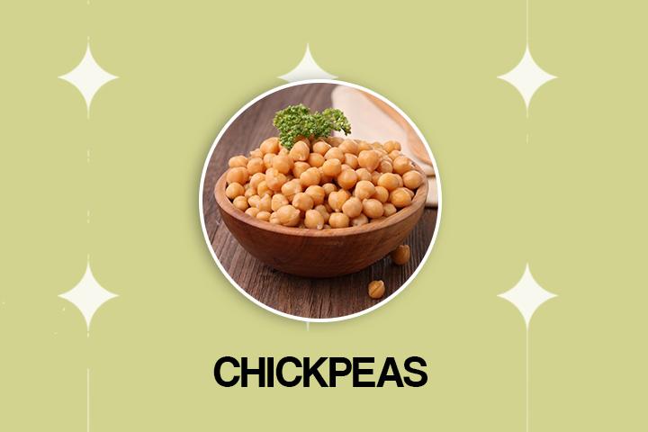 chickpeas vegan protein