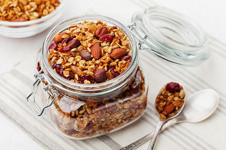 crock pot granola breakfast