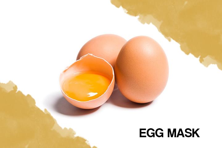 egg mask for dry hair