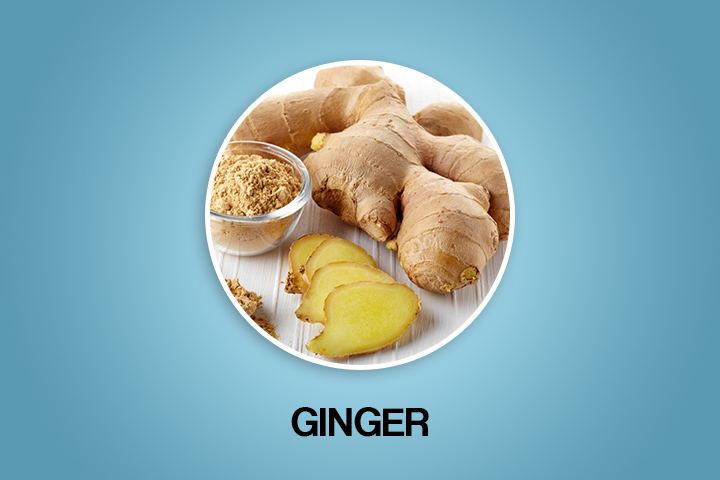 ginger for getting periods