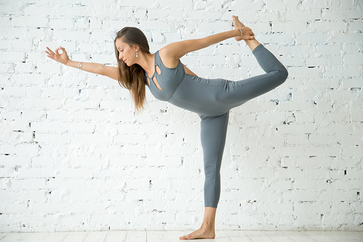 natarajasana morning yoga