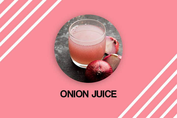 onion juice for grey hair