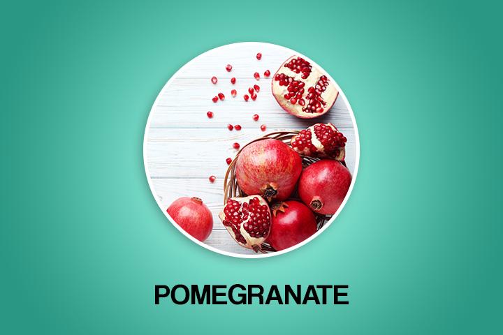 pomegranate for menstrual periods