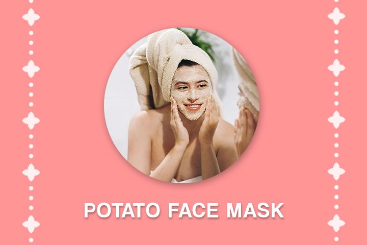 potato face mask for acne scars