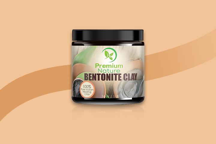 premium nature bentonite clay