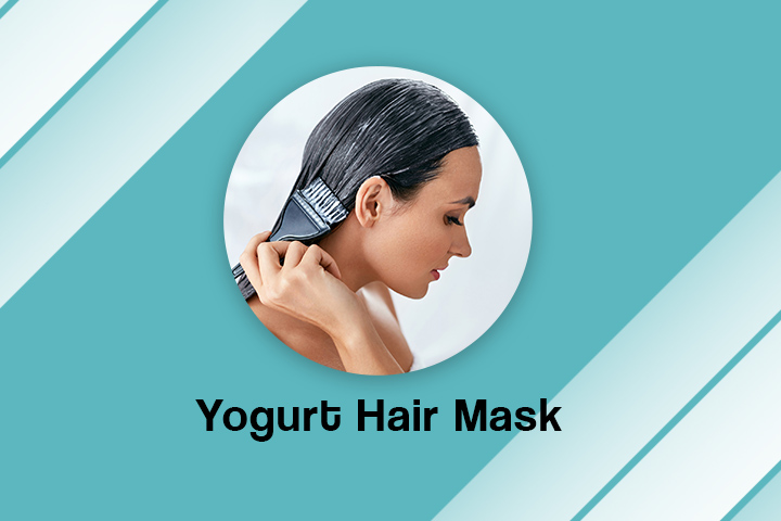 Yogurt Hair Mask For Frizzy Hair