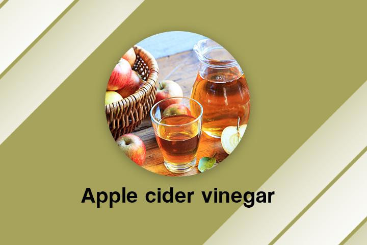 apple cider vinegar for frizzy hair