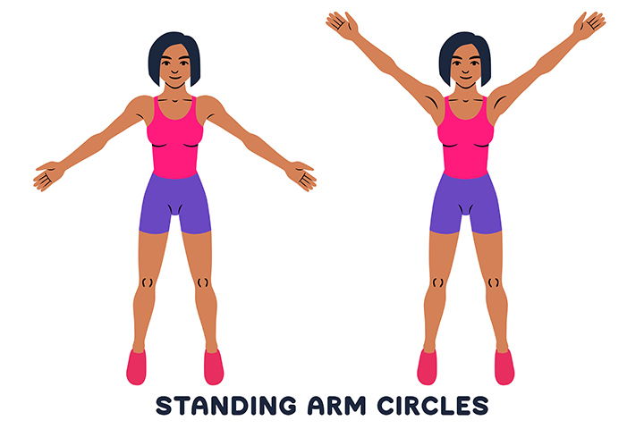 arm circles for flabby arms