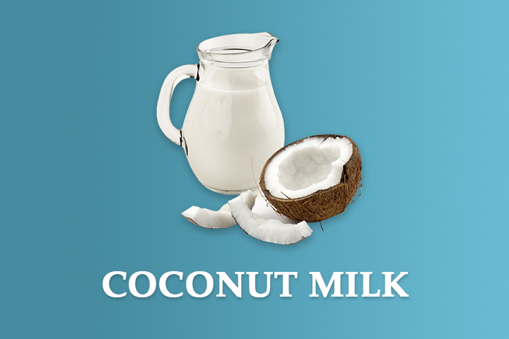 coconut milk for damaged hair
