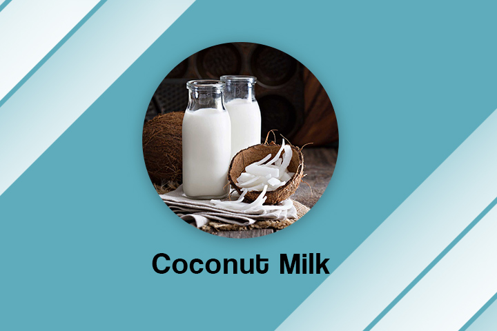 coconut milk for frizzy hair