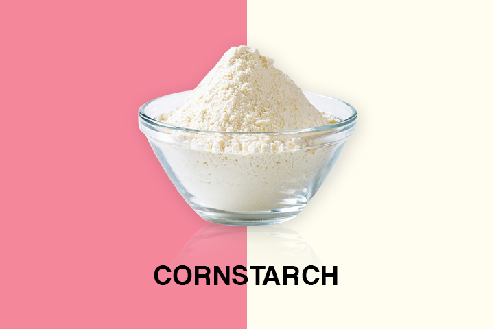 cornstarch for oily hair
