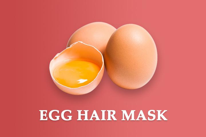 egg hair mask for damaged hair