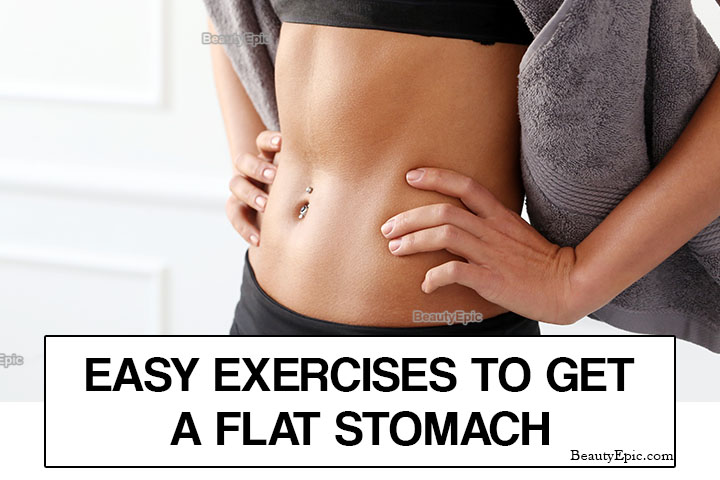 Top 5 Exercises to Get a Flat Stomach Fast