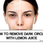 Does Lemon Juice Help Dark Circles Under Eyes?