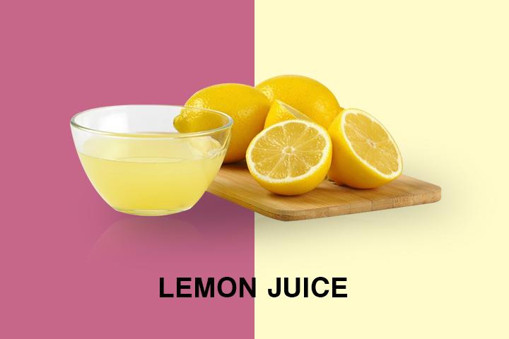 lemon juice for oily hair