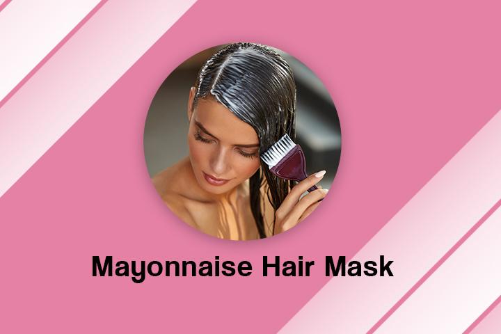 mayonnaise hair mask for frizzy hair