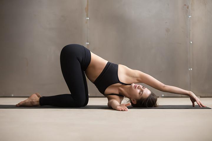 parsva balasana for upper back pain
